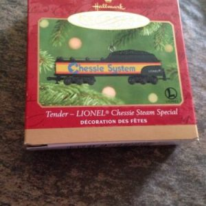 Hallmark HALLMARK KEEPSAKE ORNAMENT TENDER-LIONEL CHESSIE STEAM SPECIAL SERIES 2001 [tag]