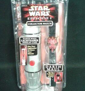 Star Wars STAR WARS EPISODE 1 DARTH MAUL COLLECTOR WATCH 1999