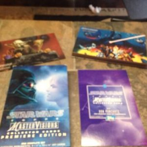 Star Wars Star Wars Master Visions Collector Cards Premiere Edition – Complete.