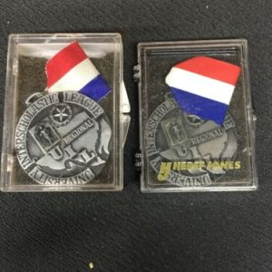Track & Field Interscholastic League Silver Medal [tag]