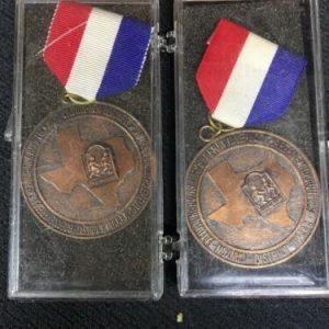 Track & Field Texas District 18 AAAA 400 Meter Relay Medal
