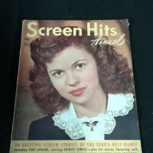 Magazines SCREEN HITS ANNUAL – 1948 – Complete Issue