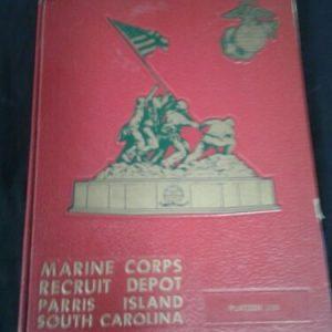 Books 1974 Marine Corps Recruit Depot Parris Island South Carolina Platoon 120