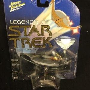 Star Trek ROMULAN BIRD OF PREY  Legends of Star Trek Johnny Lightning Playing Mantis
