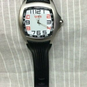 WATHCES Volkswagen VW GTI Wrist Watch~ DRG017908~ Blk/Red/White~ Great Preowned Cond!