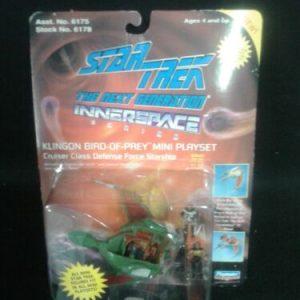 Star Trek Star Trek The Next Generation Innerspace Klingon Bird of Prey  Mini Playset