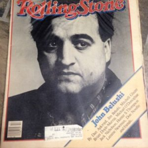 Magazines ROLLING STONE MAGAZINE ISSUE 368 JOHN BELUSHI DEATH TRIBUTE APRIL 1982 VERY RARE [tag]