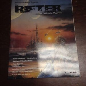 Other Comics THE RIFTER #15 SOURCEBOOK SERIES PALLADIUM BOOKS 2001 FIRST PRINT MEGAVERSE [tag]