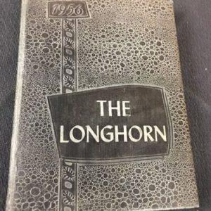 YEARBOOKS 1956 The  Longhorn Harper High School Harper Texas Yearbook