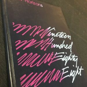 YEARBOOKS Lancaster Christian School New Horizons 1988 Lancaster Pa Yearbook [tag]