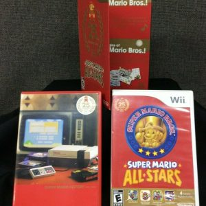 Wii Super Mario All-Stars 25th Anniversary Wii (READ Details~ Missing Game Disc)
