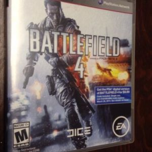 Playstation BATTLEFIELD 4 PLAYSTATION 3 PS 3 VIDEO GAME!! IN EXCELLENT CONDITION!! [tag]