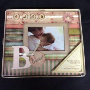 ARTS & CRAFTS Decoupage Baby Photo Album/Scrapbook  10 X 8.85  New [tag]
