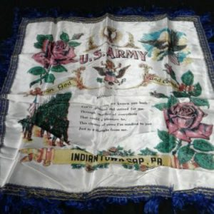 Misc U.S. Army Mother & Dad Pillow Sham – Indiantown Gap, PA [tag]