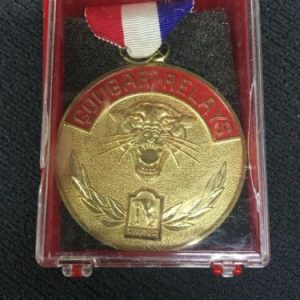 Track & Field Golden Cougar Relay Medal [tag]