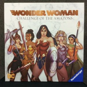 Board Games DC Comics Wonder Woman: Challenge Of The Amazons Board Game~ NEW Sealed Box!
