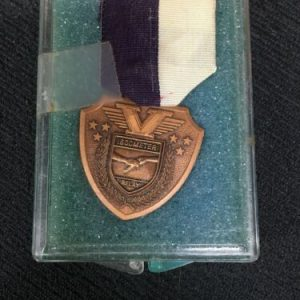 Track & Field Bronze 1600 Mete Relay Medal [tag]