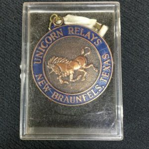 Track & Field Bronze Unicorn Relays New Braunfels, Texas Medal [tag]