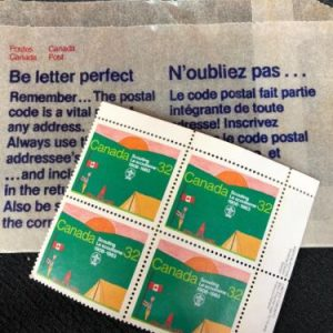 Boy Scouts Canada Stamps – Scouting 32 , 4 Stamps