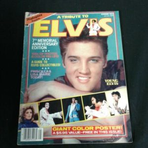 Magazines A Tribute To Elvis Presley Photoplay Magazine Presents Summer 1984