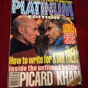Star Trek STARLOG Presents SCIENCE-FICTION TV WRITERS PLATINUM EDITION #1