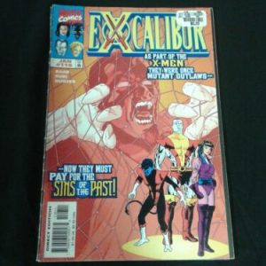 Marvel Comics Excalibur – Vol. 1, No. 116 – Marvel Comics Group – January 1998 [tag]