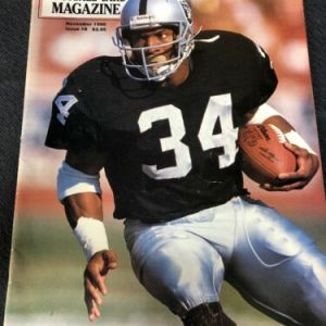 Football Beckett Football Card Magazine November 1990: Bo Jackson and Warren Moon [tag]