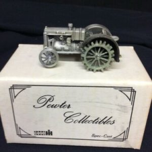 Pewter Spec Cast Pewter Case Tractor NOS