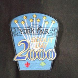 Boy Scouts Boy Scouts-  York Fair – Scout Day 2000 patch  New
