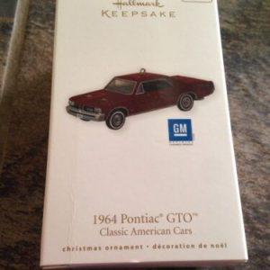 Hallmark Hallmark Keepsake Ornament 1964 Pontiac GTO [tag]