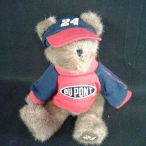 Boyds Bear Boyds Retired Bears NASCAR Jeff Gordon #24 w/ Red DuPont Sweater NWT
